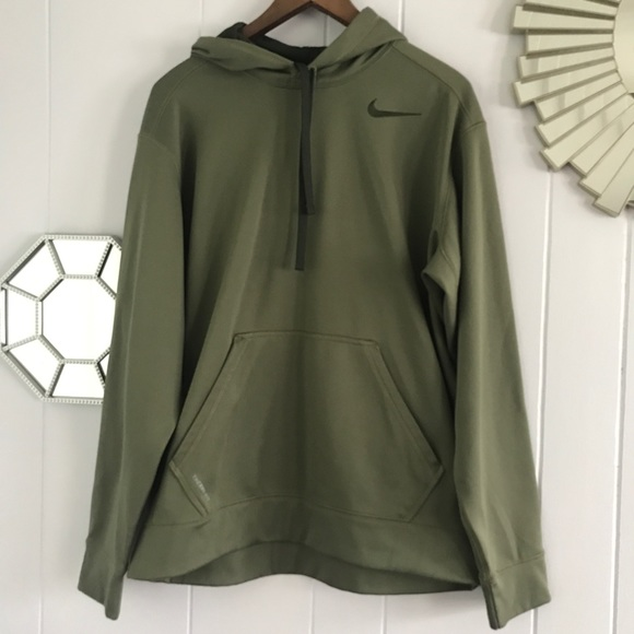 Nike Olive Green Therma-Fit Hoodie L. M 5b9dab267ee9e2e6398bc35e d59c17e9a
